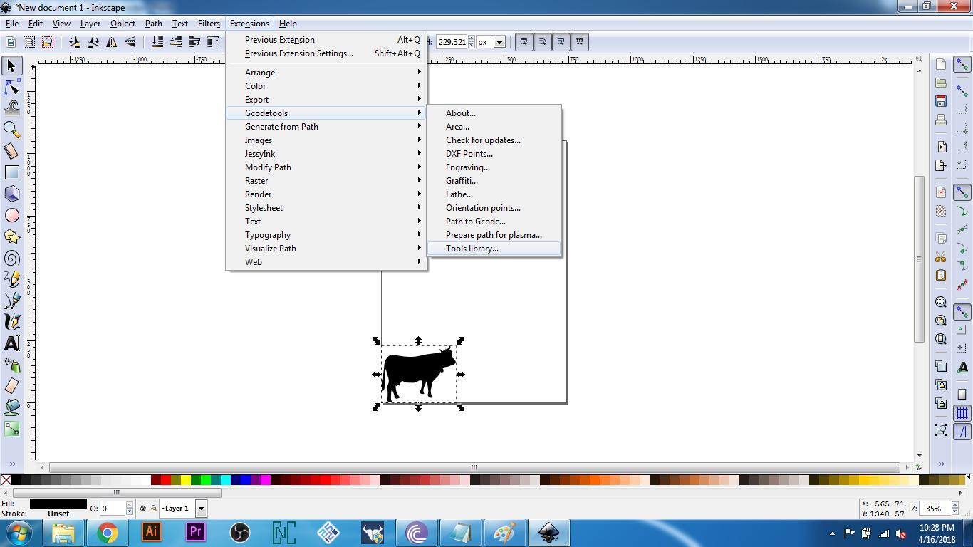 InkScape – Go Fab CNC